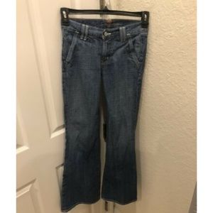 Women's 7 For All Mankind Low Flare Jeans Size 25